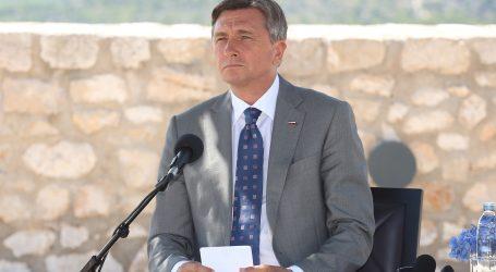 Pahor privržen cjelovitosti BiH, ništa ne zna o navodnom non paperu