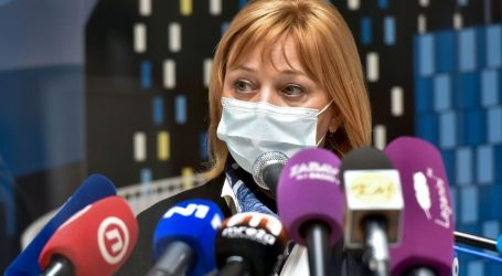 """Sandra Šikić: """"Cijepili smo najveći broj osoba u jednom danu u Hrvatskoj"""""""