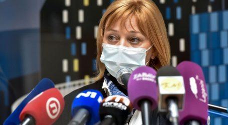 """Sandra Šikić: """"U tijeku su sastanci o otvaranju dodatnog punkta za cijepljenje u Zagrebu"""""""