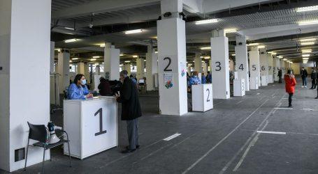 Krenulo masovno cijepljenje na Velesajmu, u utorak na 'probu' stiglo tek 18 posto pozvanih
