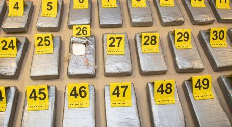 Policija objavila detalje o rekordnoj zapljeni kokaina, nitko nije uhićen