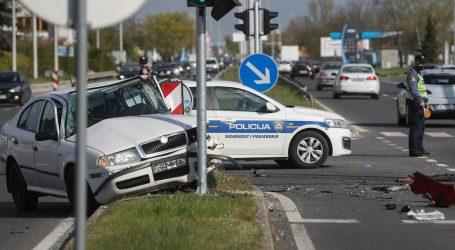 Prometna nesreća u Zagrebu, ozlijeđene tri osobe
