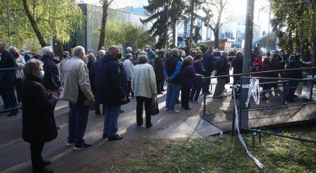 U Zagrebu rekordan odaziv na masovno cijepljenje
