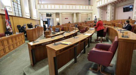 Sabor raspravlja o javnoj nabavi, nema glasovanja
