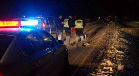 Varaždin: Pijani vozač ozlijeđen nakon što je autom sletio u jarak