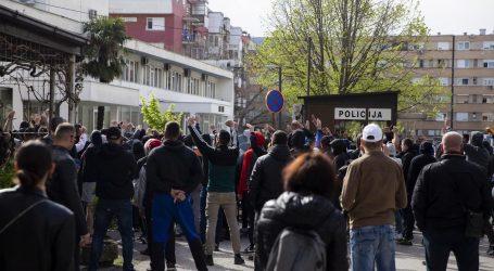Prosvjed protiv policijske brutalnosti u Mostaru