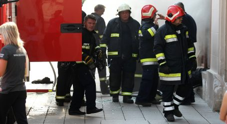 U širem centru Zagreba buknuo požar