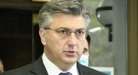 """Plenković novinarki Nove TV: """"Umjesto da se hvale ministri, vaša kuća ih je najviše pritiskala"""""""
