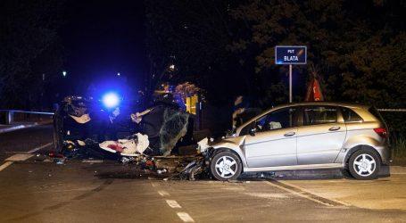 Detalji teške nesreće kod Zadra: Tinejdžer u Mercedesu nije stao na znak 'Stop', poginula dva mladića