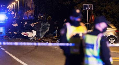 U teškoj prometnoj nesreći kod Zadra poginula dva mladića
