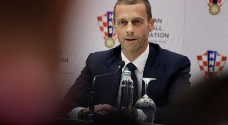 """Aleksandar Čeferin: """"Polufinalne utakmice Lige prvaka nisu u opasnosti"""""""