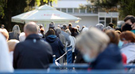 Na zagrebačkom Velesajmu nastavljeno masovno cijepljenje Pfizerom
