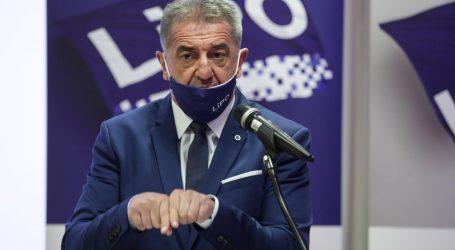 Predsjednik stranke LiPO Milinović predstavio izborni program za župana Ličko-senjske županije