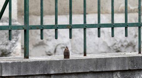 """Deaktiviran """"zvončić"""" koji je netko postavio pred šibenskim SDP-om"""
