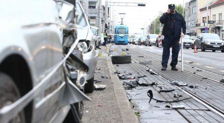 Policija objavila detalje nesreće u Dubravi: Vozač Audija bježao s mjesta druge nesreće