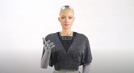 Humanoidni robot Sophia stvara i umjetnička djela