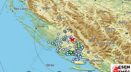 Potres jačine 3,2 po Richteru u Dalmaciji