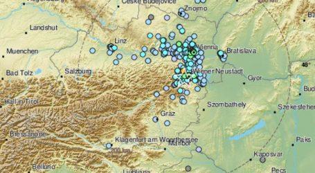 Potres jačine 4,3 po Richteru u Austriji