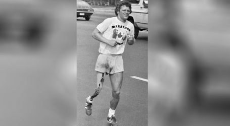 Terry Fox, maratonac s protezom, i danas je simbol ljudske upornosti