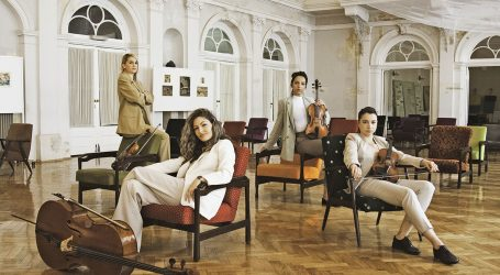 'Beyond classic': Kvartet Vortex Strings svira crossover u HGZ-u