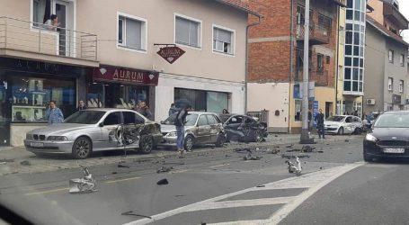 Prolaznik za dlaku izbjegao smrt u prometnoj nesreći u zagrebačkoj Dubravi