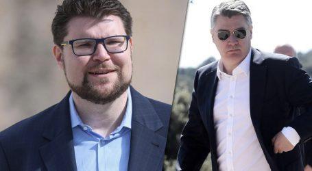 DIO SDP-A FRUSTRIRAN PASIVNIM GRBINOM: 'Milanović je u ovom trenutku jedini pravi lider oporbe'