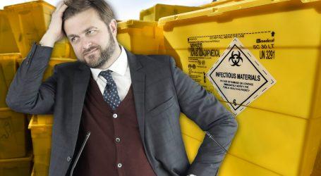 'Ministar Ćorić jednim potezom može riješiti izvanredno stanje sa zaraznim otpadom'