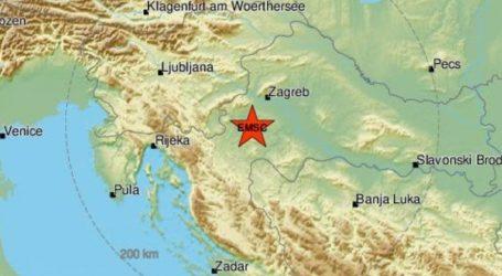 Novi potres kod Karlovca