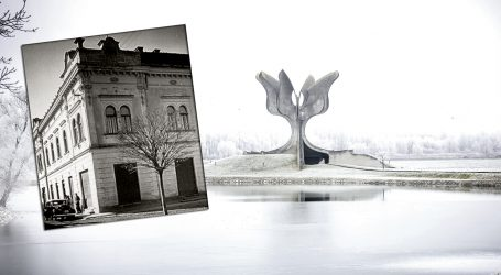 EKSKLUZIVNO IZ 2016.: 'Spomen-ploča HOS-a na mjestu je Luburićeva stožera logora Jasenovac'
