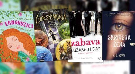 Vikend s knjigom: Za najmlađe Trnoružica u novom ruhu, oni stariji uživat će u mračnom trileru ili napetoj priči o bogatim nasilnicima