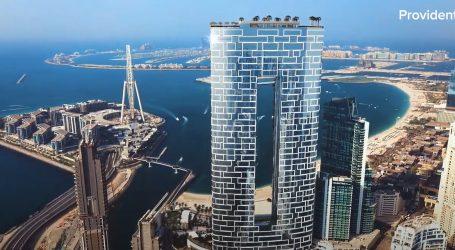 Dubai: Hotelski bazen na 300 metara nadmorske visine ušao u Guinnessovu knjigu rekorda