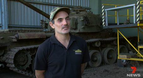 Queensland: Australac prodaje tri stara vojna tenka iz svoje kolekcije