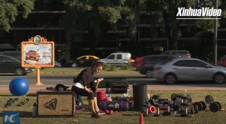 Vježbaone i teretane u Buenos Airesu programe provode na otvorenom