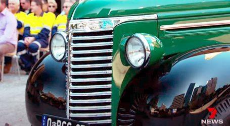 U gradskom voznom parku Brisbanea i Chevroletov kamionet iz 1939.