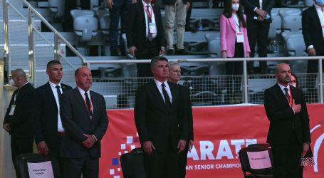 Predsjednik Milanović: Mladim ljudima omogućiti što više sporta, sportom se treba baviti