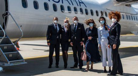 U Splitu obilježena trideseta obljetnica prvoga putničkoga leta Croatia Airlinesa