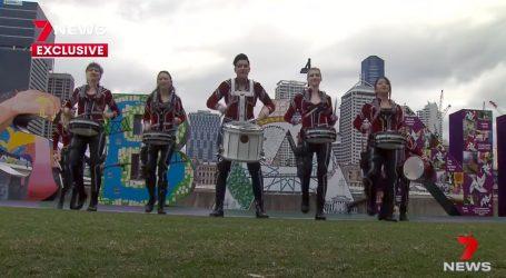 U ritmu: Australske bubnjarice na turneji oduševljavaju publiku