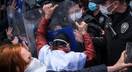 Neredi na prvomajskim okupljanjima u Turskoj, stotine uhićenih