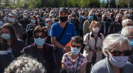 Unatoč ograničenjima tisuće Francuza sudjelovale u prvomajskim prosvjedima