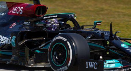 """VN Španjolske: Hamiltonu 100. """"pole position"""""""