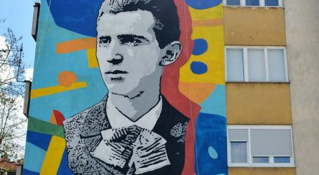 Mladi se Tesla muralom Leonarda Lesića vratio u Karlovac