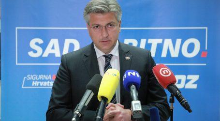 """Plenković: """"Program Zlate Đurđević je populističko-politički"""""""