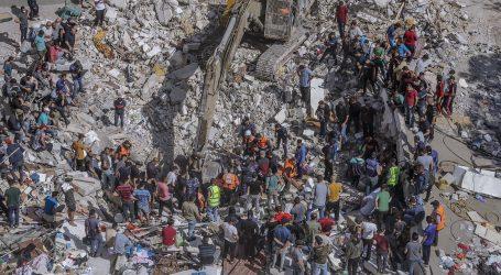 Ubijeno 33 Palestinaca u izraelskim udarima, rakete se ispaljuju iz Gaze