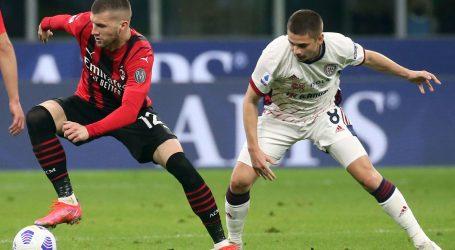 Serie A: Milan izgubio dva važna boda u borbi za Ligu prvaka