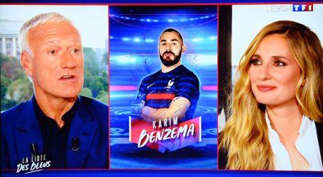 """Benzema ponovno u reprezentaciji: Deschamps: """"Stavio sam interes Francuske na prvo mjesto"""""""