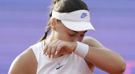 WTA Beograd: Ana Konjuh predala finale zbog ozljede desnog kuka