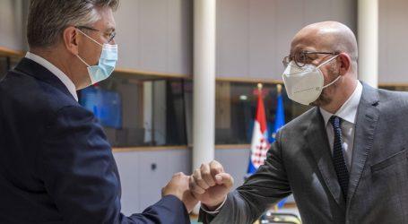 """Plenković i Michel: """"Nedopustivo je prisilno slijetanje zrakoplova"""""""