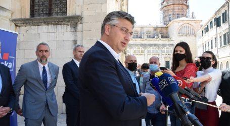 """Plenković o policijskoj pratnji Tomaševiću: """"Ljevica plače…"""""""