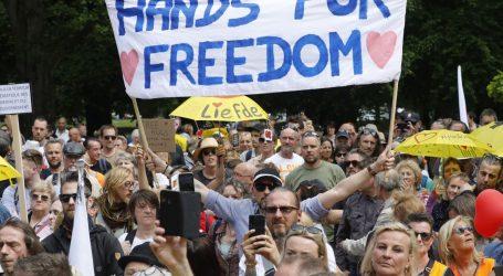U Bruxellesu pronovno prosvjedovali protiv epidemioloških mjera