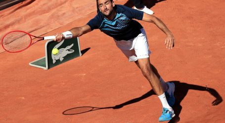 Roland Garros: Čilić preko Rinderknecha do Federera